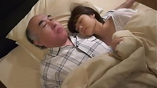 Japanese teen fucked by her grandpa