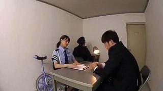 Akiho Yoshizawa adores having a stiff tool between her legs