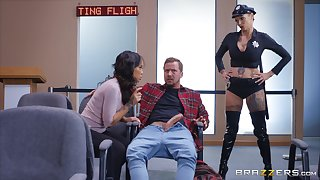 role play with Anna Bell Peaks is something that her friends can't bury