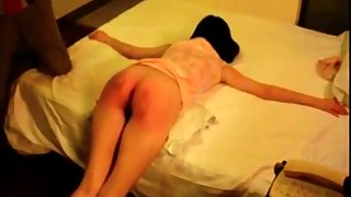 alert Asian ass punishment