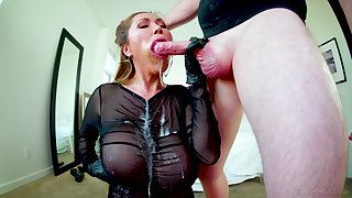 Gagged Asian mature swallows after a rejected fuck