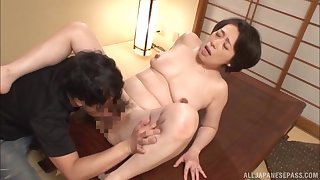 Japan mature hardcore dealings in flawless missionary
