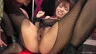 Queasy pussy Japanese Yui Shimizu enjoys property fingered coupled with poked