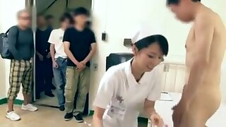 Handsomeness Japanese Nurse Having Lovemaking With Patients